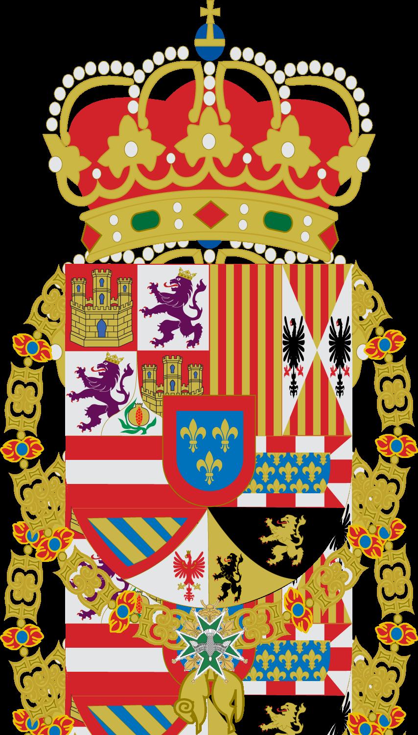 Герб на Испанските Бурбони