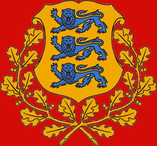 Герб на Естония