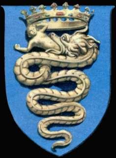 Гербът на рода Висконти