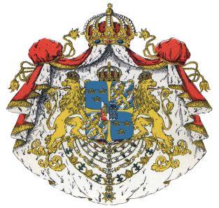 Герб на Швеция