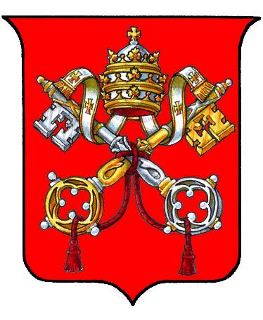 Герб на Папската държава